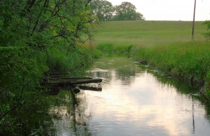 Creek at Brophy Lake Resort.