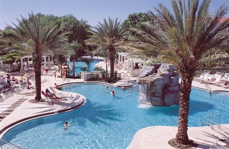 Outdoor pool at Star Island Resort.