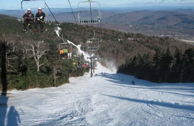 Ski lift at Birch Ridge Inn.