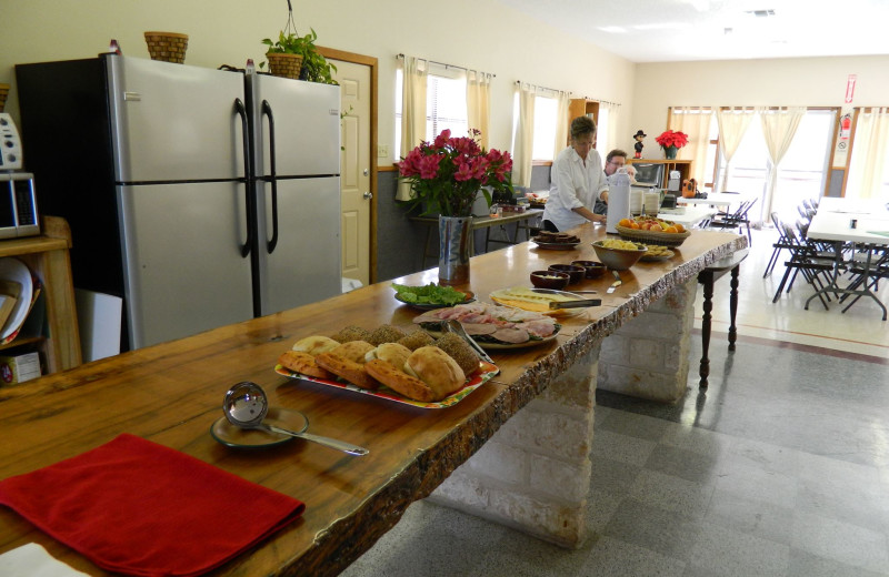 Meeting room at Rio Guadalupe Resort.