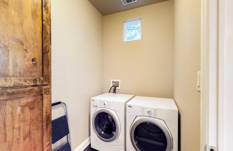 Rental laundry room at Still Waters Vacation Home.