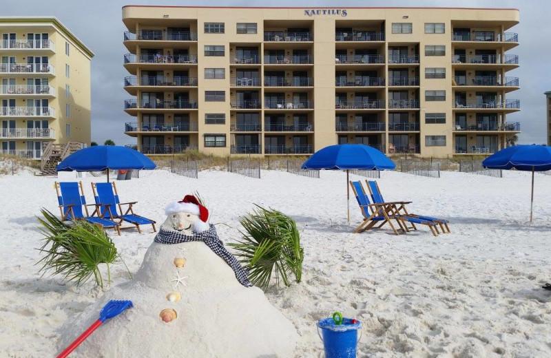 Holidays at Nautilus Condominiums.