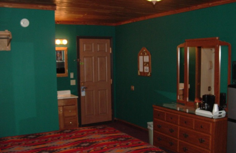 Guest room at Comfort Zone Inn.