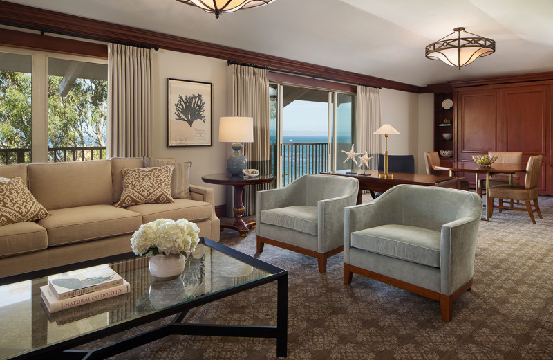 The Parlor of Cannery Row Suite, ideal for the Steinbeck enthusiast with incredible views of historic Cannery Row.