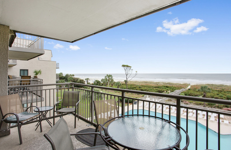 Rental balcony at Seashore Vacations Inc.