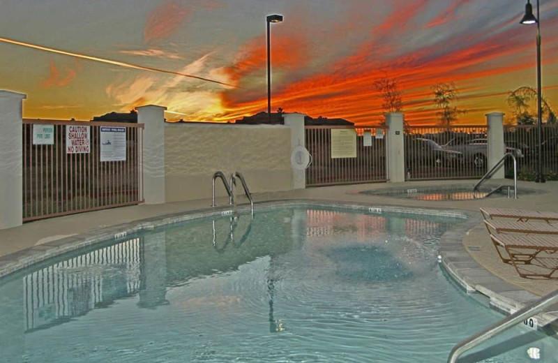 Outdoor pool at Hampton Inn & Suites Phoenix-Surprise, AZ.