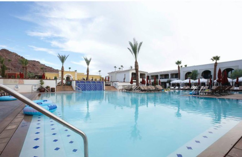 Outdoor Kasbah Pool at Montelucia Resort