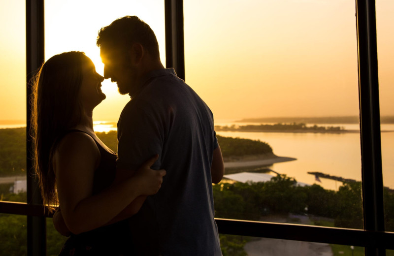Couple at Tanglewood Resort and Conference Center.