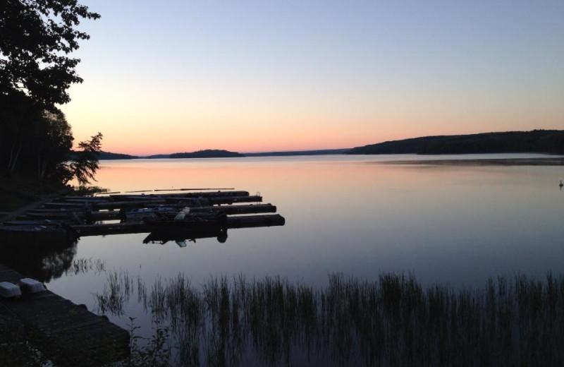 The Lake at Five Lakes Lodge