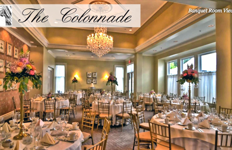 Banquet Hall at The Colonnade
