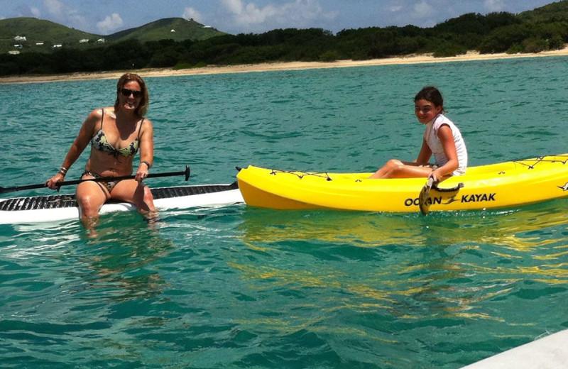 Water Activities at Tamarind Reef Resort