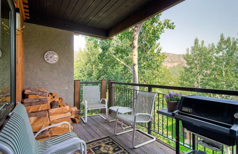 Rental balcony at Shadowbrook Property Management.