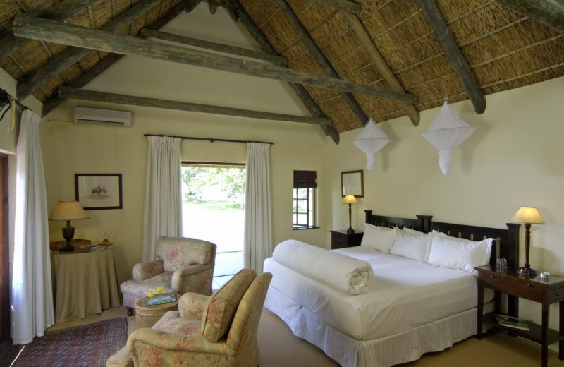 Guest room at Blaauwbosch Private Game Reserve.