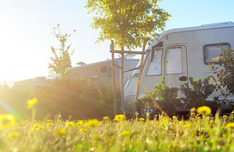 RV campground at Yogi Bear's Jellystone Park Gardiner.