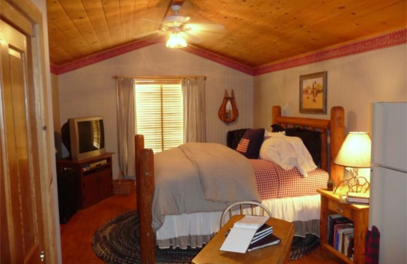 Guest suite at Rancho Bernardo B & B.