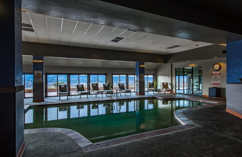 Indoor pool at Prescott Resort & Conference Center.