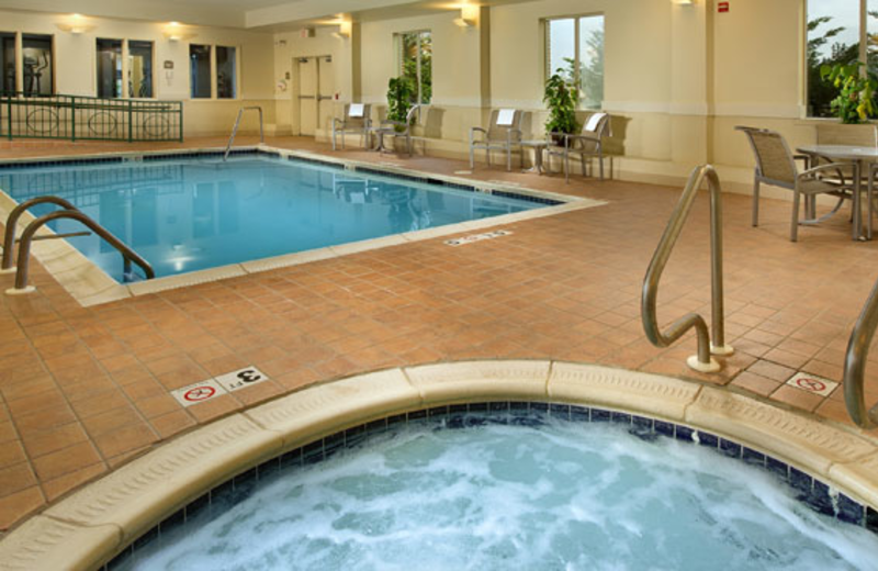 Indoor Pool at Holiday Inn Express Chambersburg