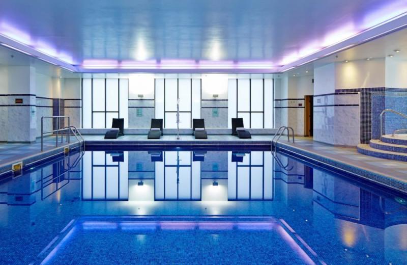 Indoor pool at Liverpool Marriott.