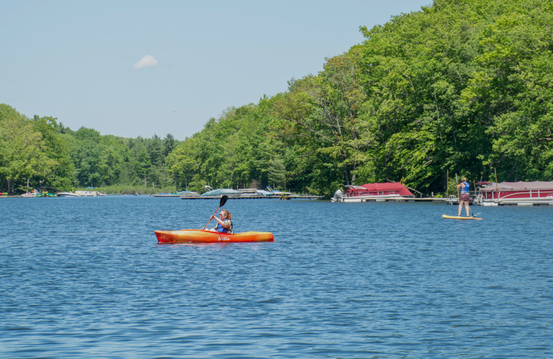 Lake view at Railey Vacations.
