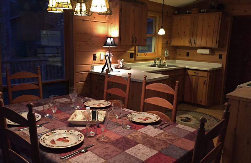 Guest kitchen at Chanticleer Inn.