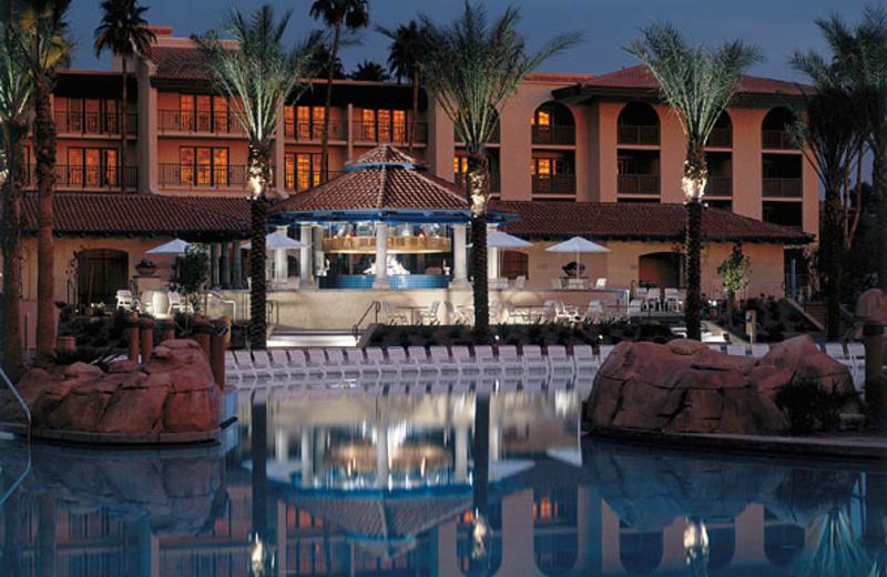 Nighttime view of Arizona Grand Resort.