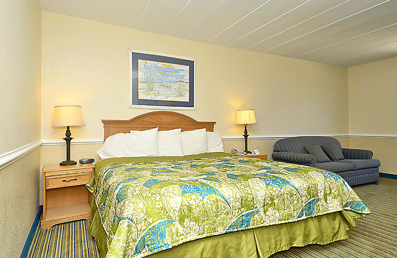 Guest room at The Sea Ranch Resort.