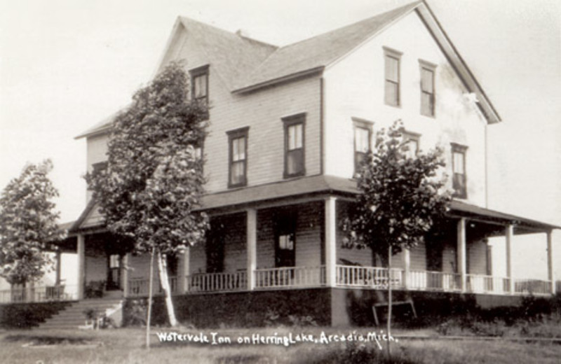 Historical photo of Watervale Inn.