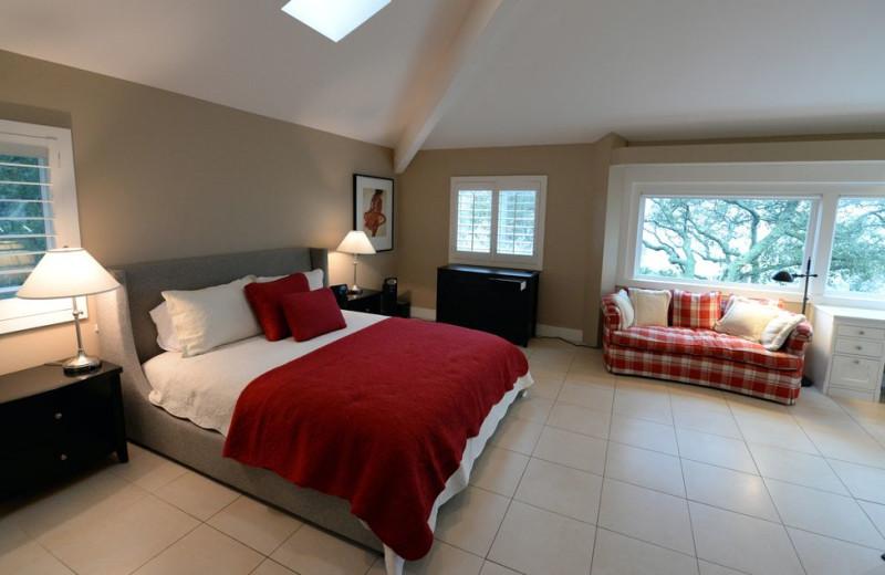 Rental bedroom at Woodfield Properties.