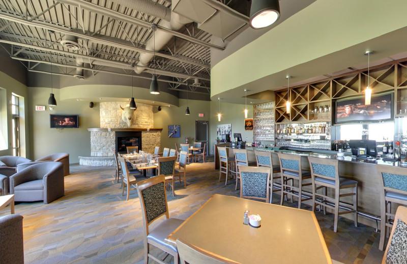 Restaurant at Buffalo Point Resort.