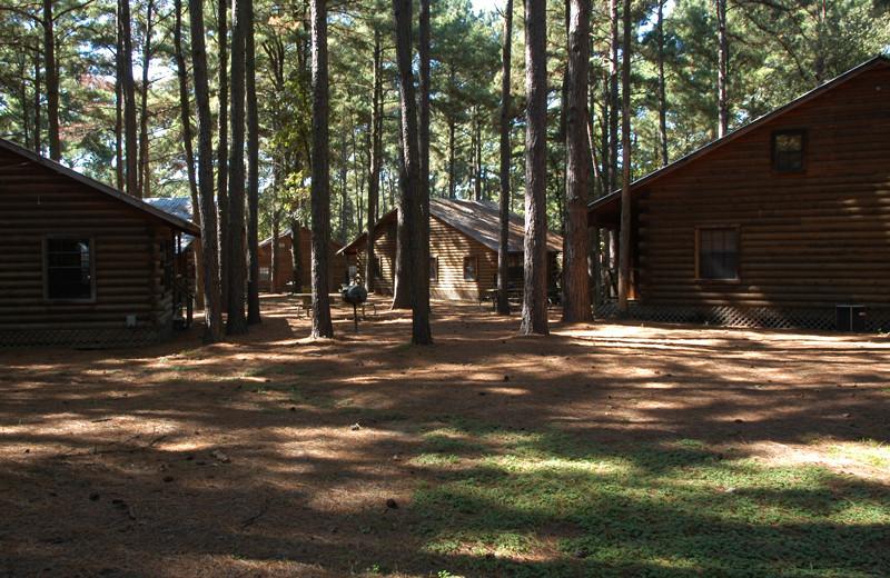 Cabins at Lake O' The Woods.