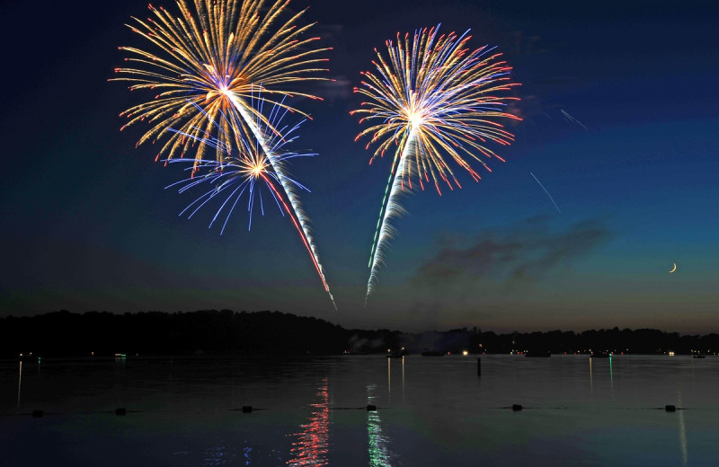 Fireworks at The Osthoff Resort.