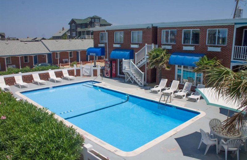 Outdoor pool at Colonial Inn.
