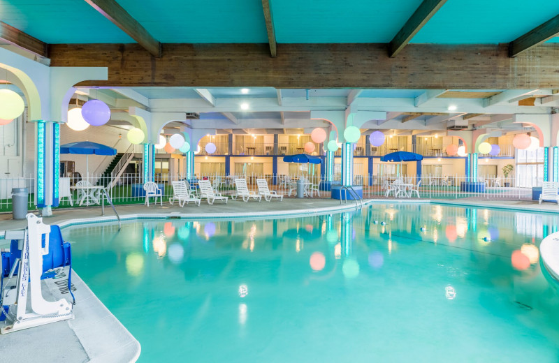 Indoor pool at America's Best Value Inn - Benton Harbor