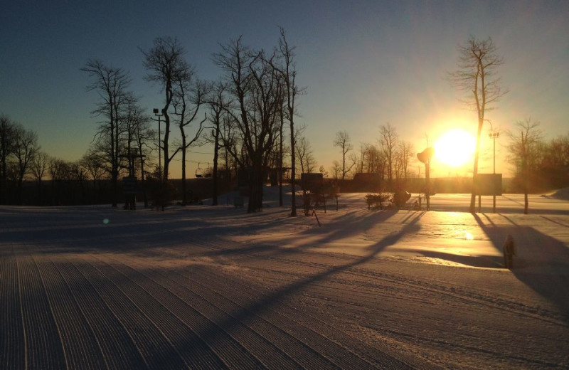 Sunset at Wisp Resort