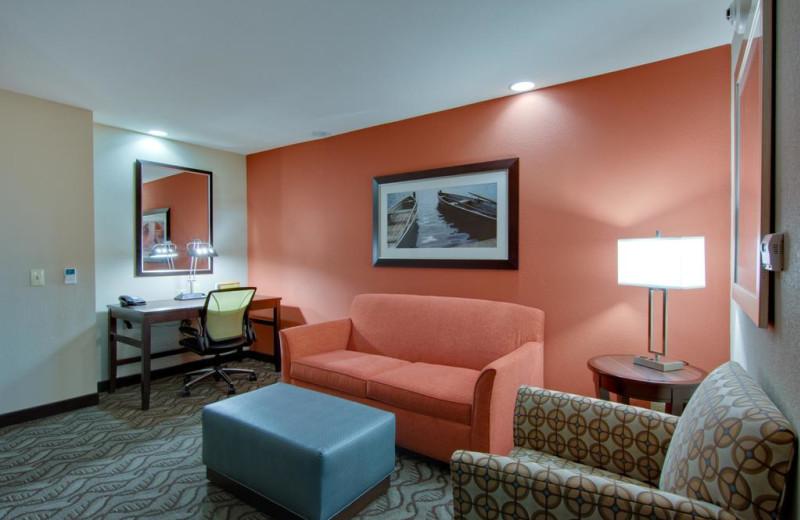 Guest room at Hilton Garden Inn - Benton Harbor.
