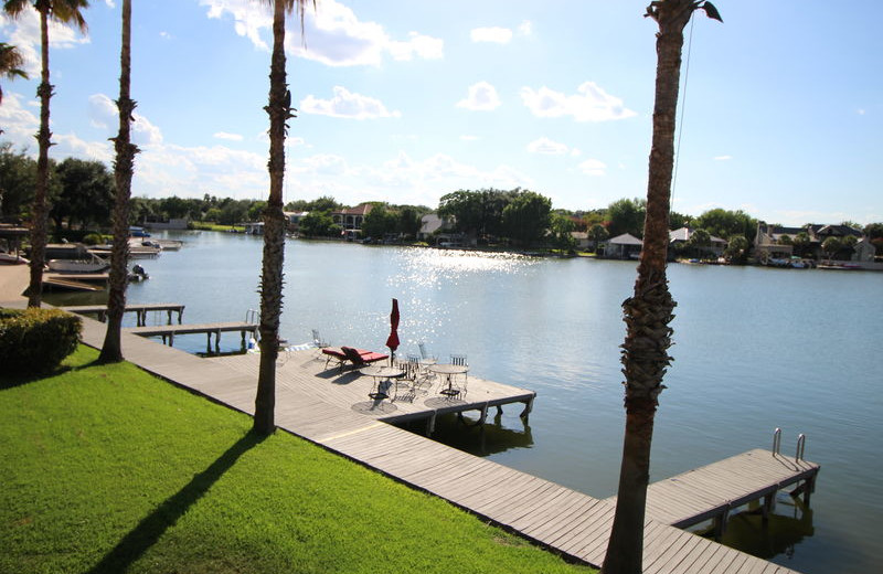 Rental dock at All Seasons Accommodations, Inc.