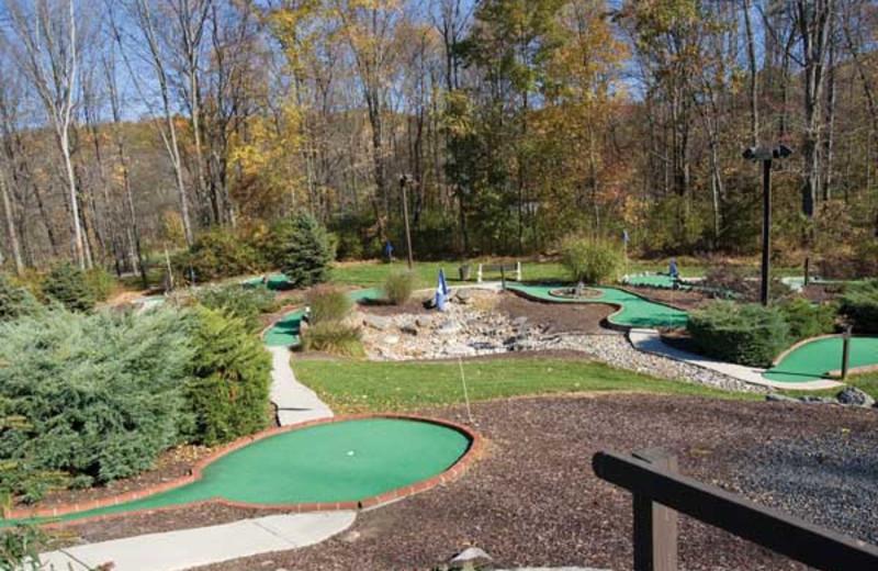 Mini golf at Wyndham Vacation Resorts Shawnee Village.