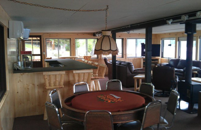 Party room at Shady Roost Lodge.