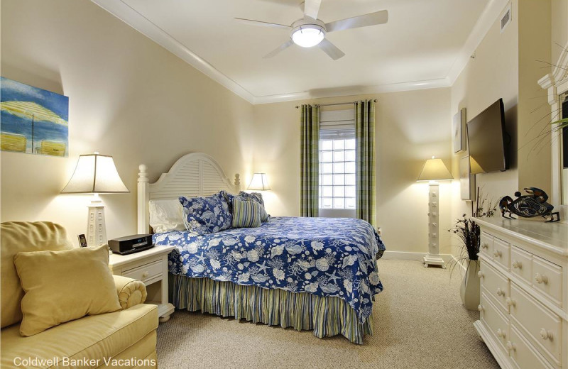 Rental bedroom at CBVacations.com
