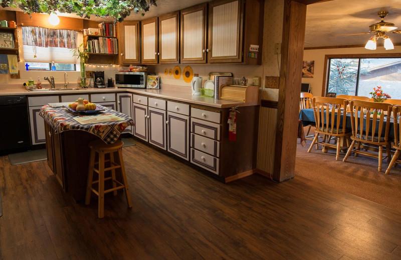 Kitchen at Canyon Colors.