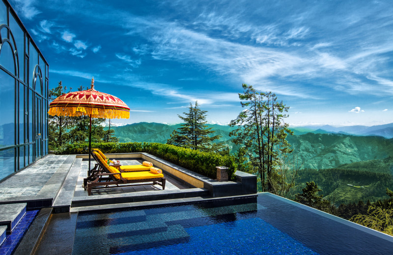 Jacuzzi at Wildflower Hall - An Oberoi Resort.