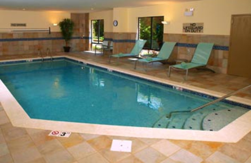 Indoor Pool at SpringHill Suites - Pigeon Forge