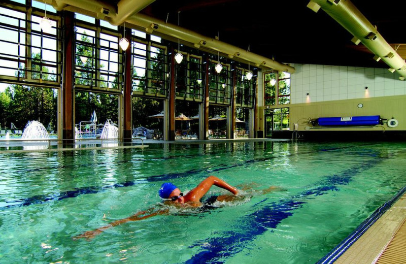 Indoor pool at Black Butte Ranch.