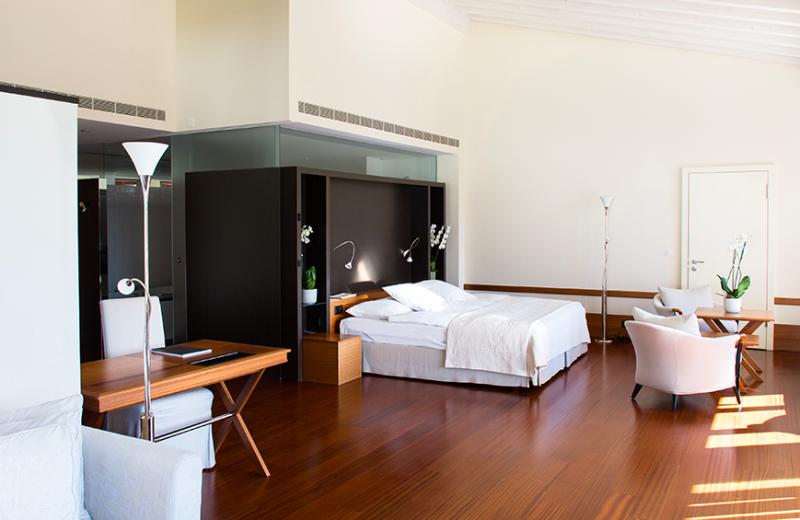 Spa suite at Victoria-Jungfrau Grand Hotel & Spa.