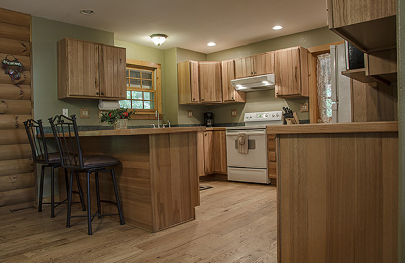 Kitchen at Hideaway Haven.
