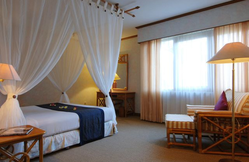 Guest room at Goodway Hotel Nusa Dua.