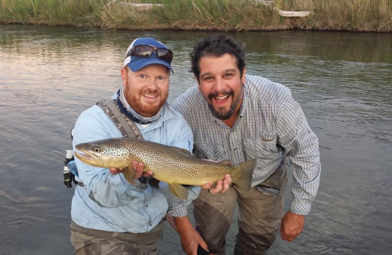 Fishing at Utah Family Lodges.