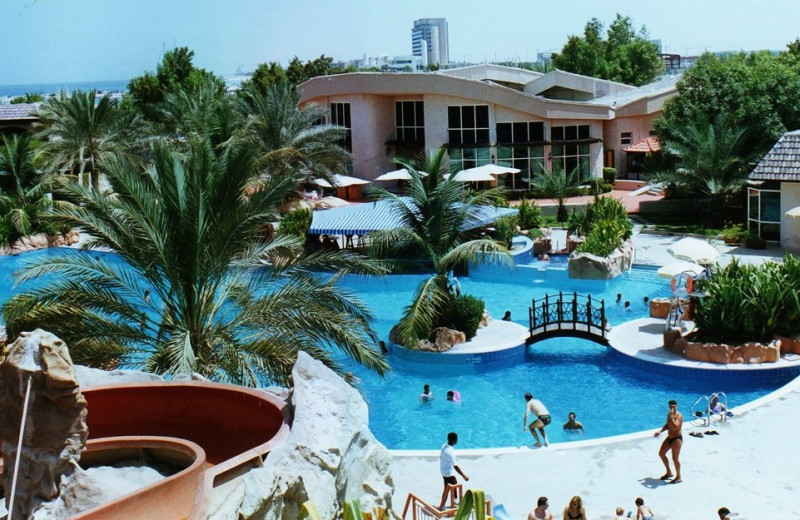Outdoor pool at Metropolitan Resort & Beach Club.