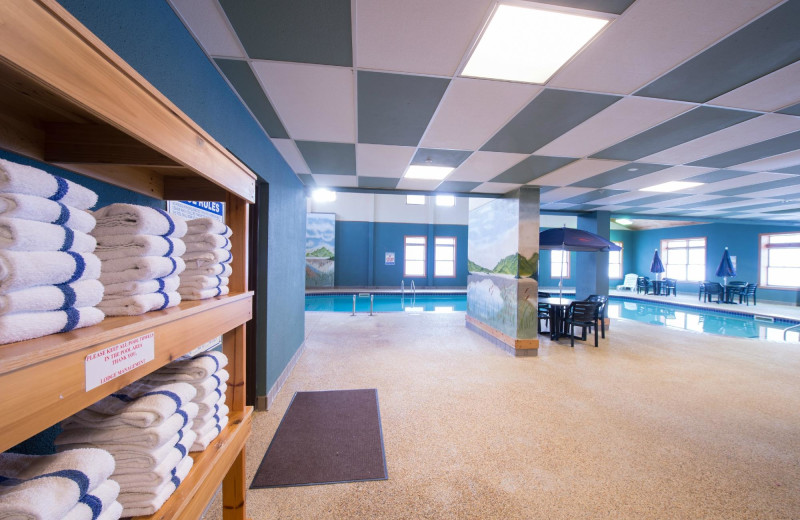 Indoor pool at The Lodge at Giants Ridge.