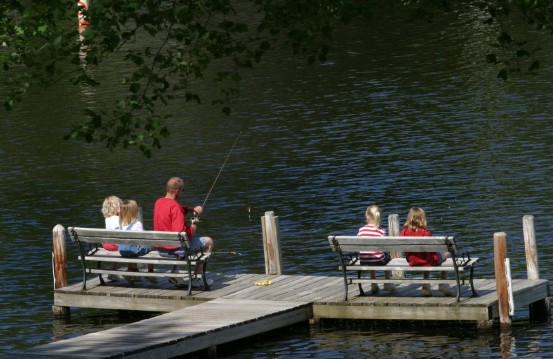 Fishing at Chanticleer Inn.